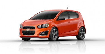 Street-Ready 2013 Chevy Sonic RS