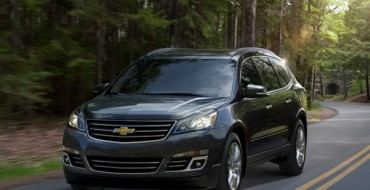 2013 Chevrolet Traverse Drives Circles Around Competition with Standard Third Row