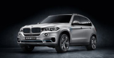 Frankfurt Debut Planned for the BMW Concept X5 eDrive