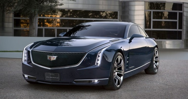 Cadillac Debuts Elmiraj Concept Coupe, its Ode to '60s Greats