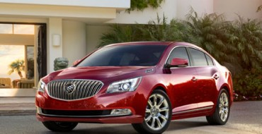 Buick Unveils Enhanced 2014 LaCrosse