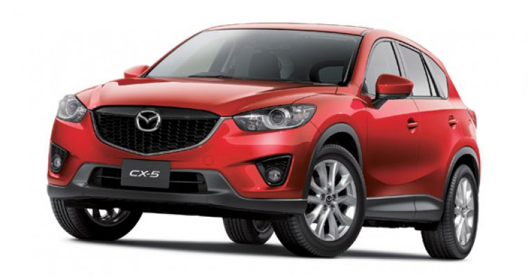 Mazda Pits CX-5 Against Honda CR-V and Subaru Forester to Prove It Can Make Great Snow SUVs