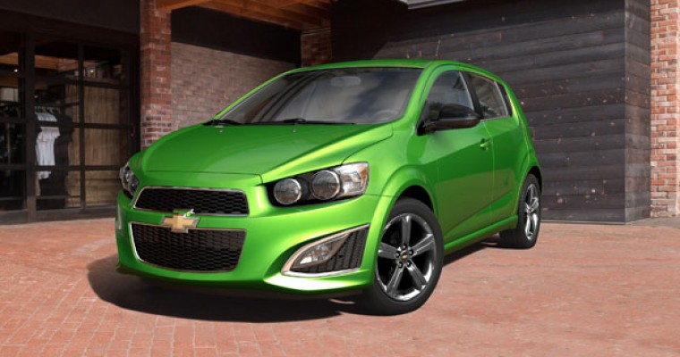 Chevy Sonic Only American-Made Car on 10 Best Back-to-School Cars List