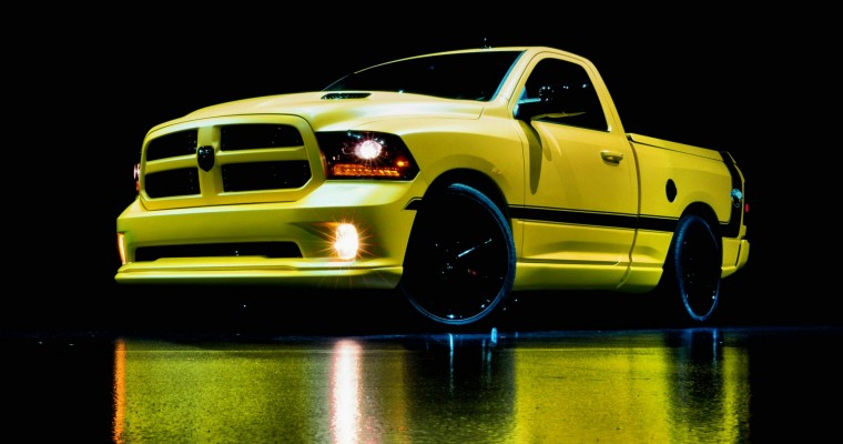 Rumble Bee Ram Concept Truck Leaves Woodward Dream Cruise Buzzing