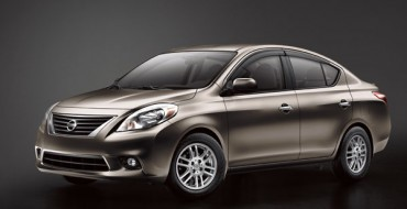 Nissan Versa Named Best Family Car Under $20,000
