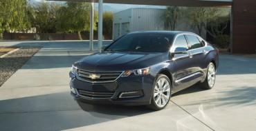Chevrolet Announces 2015 Impala Bi-Fuel Sedan