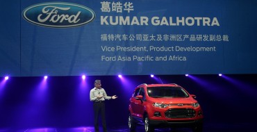 Led by Focus, Ford China Sales Beat Toyota, Honda