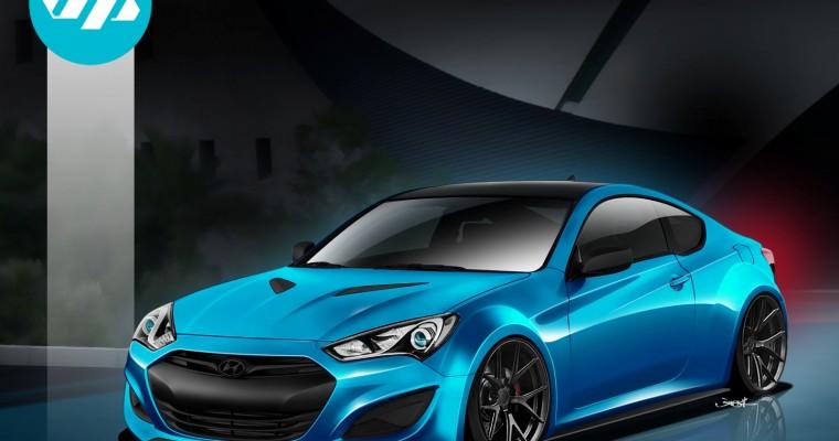 2013 Hyundai JP Edition Genesis Coupe Turning Heads at SEMA Show