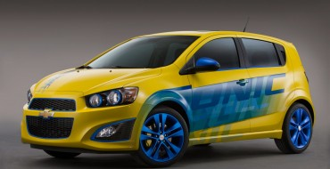 Chevrolet Performance Sonic RS Concept Looking Good, SEMA-Bound
