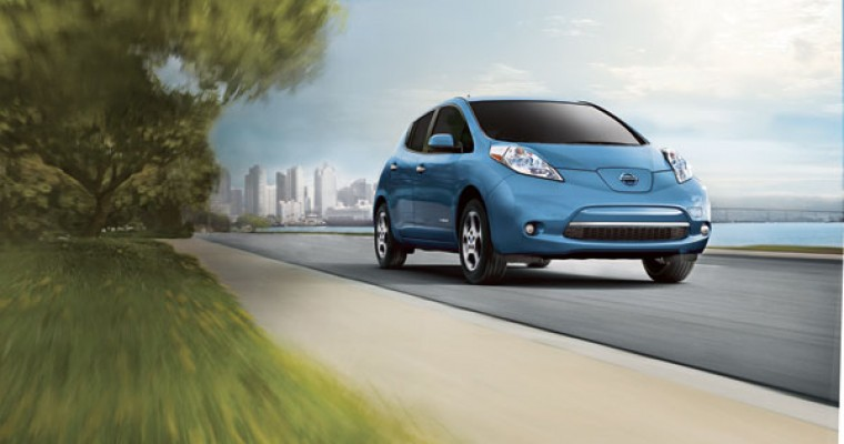 """Nissan Offers """"No Charge to Charge"""" Program to Texas LEAF Drivers"""