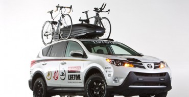 Toyota LifeTime Fitness RAV4 Features a Hot Water Shower