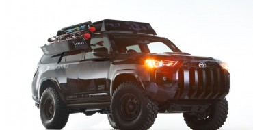 Toyota 'Ultimate Dream Ski 4Runner' Controlled by 3 iPads®