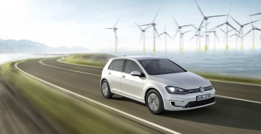 2015 Volkswagen eGolf Marks VW's First Electric Entry in America