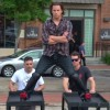 Channing Tatum Does the Splits in Retaliation