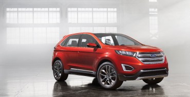 New Ford Edge Concept Technology Is Cutting Edge