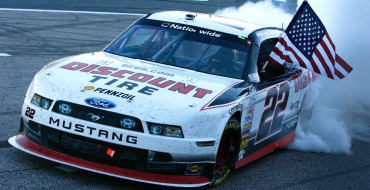 Ford Driver, Keselowski, Wins NASCAR Nationwide Race at Texas