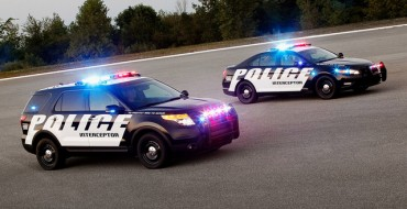 Ford Police Interceptor Vehicles Outrun Competition
