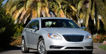 Three Chrysler Sedans Named 2014 IIHS Top Safety Picks