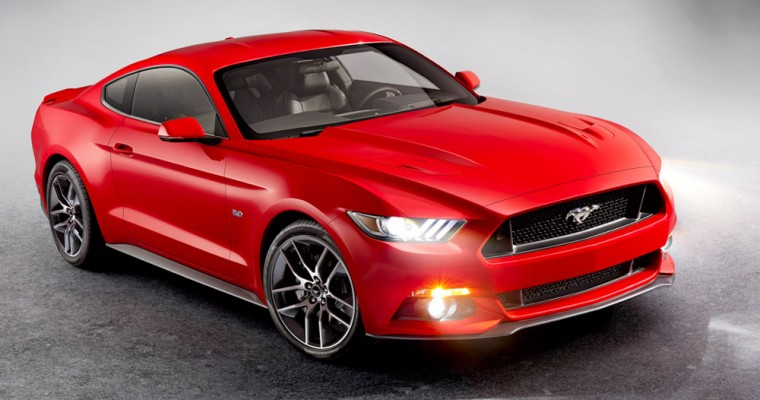 All-New 2015 Ford Mustang Named Official Car of 2014 CES