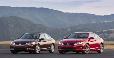 Honda Leads All Automakers with Six Honda 2014 Top Safety Pick+ Vehicles