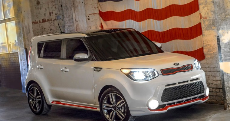 """Kia's """"Red Zone"""" Edition Soul: Excellent Choice for People, Hamsters"""