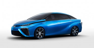 Toyota FCV Concept to Make North American Debut
