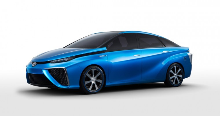 Toyota Car of the Future, the Fuel Cell Vehicle, Debuts at 2014 CES