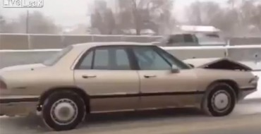 Video Shows Buick LeSabre Driving Itself Down Utah Interstate