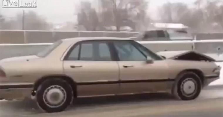 Video Shows Buick LeSabre Driving Itself Down Utah Interstate