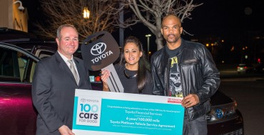 First Toyota 100 Cars for Good Vehicle Delivered