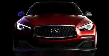 Infiniti to Unveil Formula One Inspired Concept Car at NAIAS