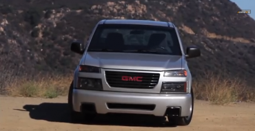Souped-Up GMC Canyon Gets 335 Horsepower with Burger Money