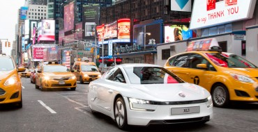 XL1 Test Drive: Volkswagen Lets 261 MPG Car Loose on New York