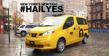 New York's Cab of the Future: The Nissan NV200 (Complete with Odor Control)