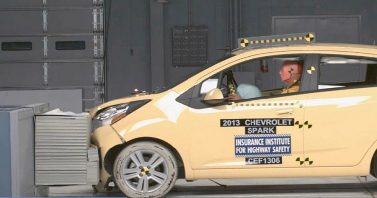 IIHS Gives 2014 Chevrolet Spark Top Safety Pick Distinction