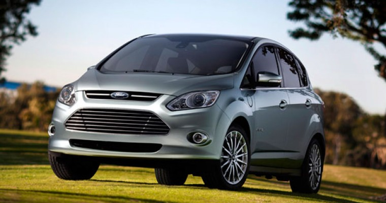 Ford to Debut C-Max Solar Energi Concept at CES This Week