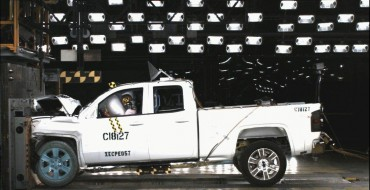 2014 Chevy Silverado 1500 and GMC Sierra 1500 Are 5-star Safety Winners