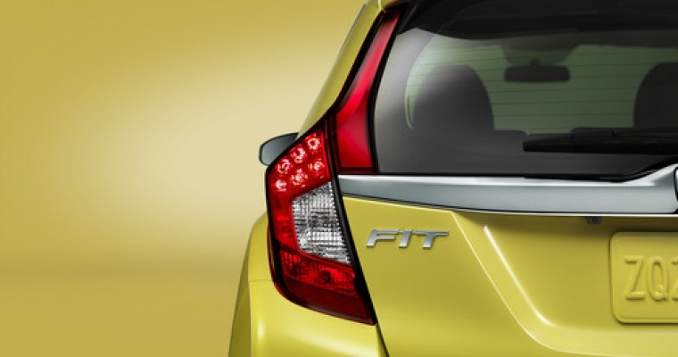 2015 Honda Fit a Top Safety Pick Thanks to Redesigned Bumper