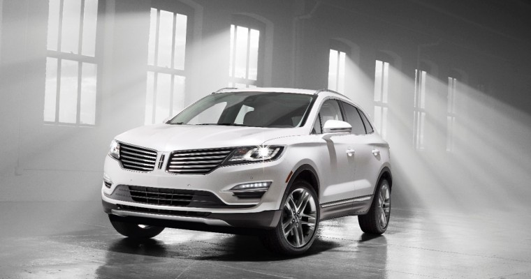 TAWA Names 2015 Lincoln MKC Crossover Utility Vehicle of Texas