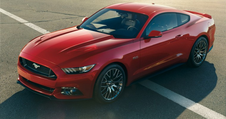 2015 Ford Mustang European Reservations Fill Up in 30 Seconds