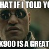 (UPDATED) Some Alternatives to Using Morpheus in the K900 Super Bowl Ad
