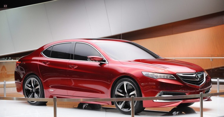 Acura Sales Propelled by TLX and SUVs