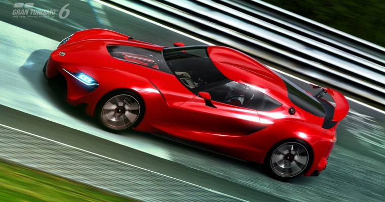 Gran Turismo 6 FT-1 Concept Available for Download Tomorrow