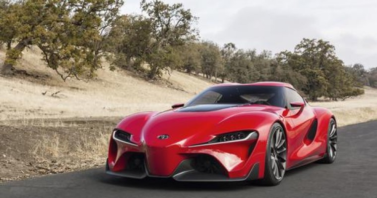 Toyota FT-1 Concept Bows at NAIAS