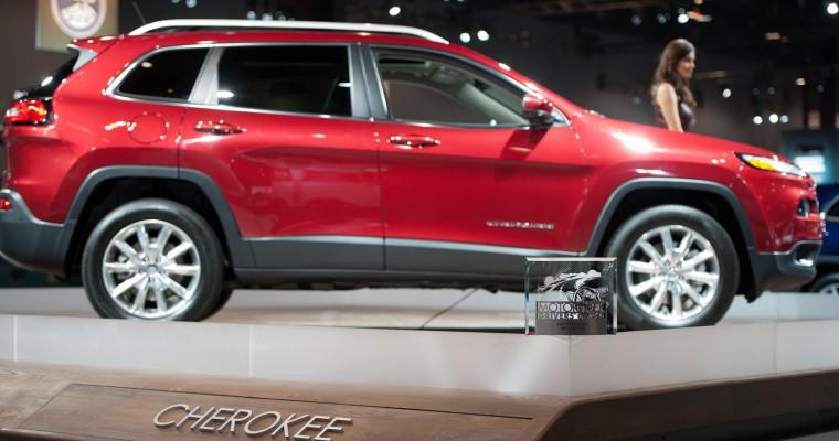 Chrysler MotorWeek Driver's Choice Award Winners Include Ram 1500 and Jeep Cherokee