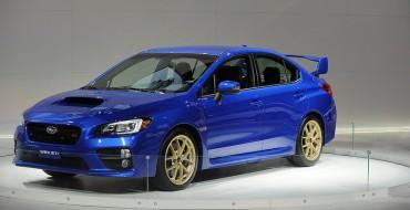 Subaru Releases 2015 WRX Pricing, WRX STI Pricing