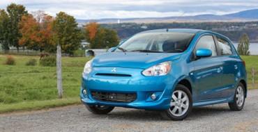 """2014 Mitsubishi Mirage Tops """"Greenest Vehicles"""" List"""