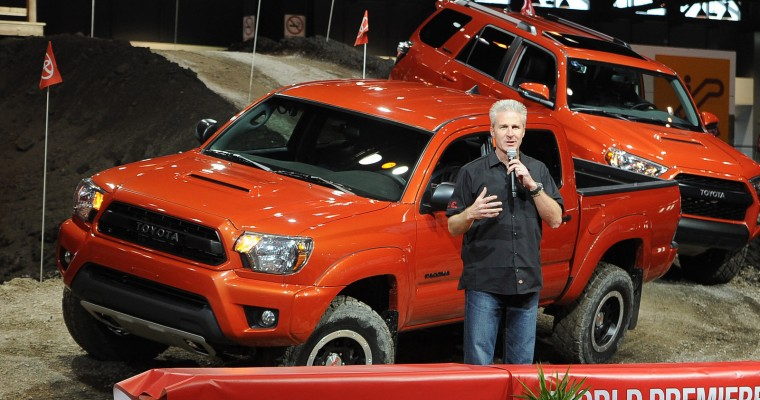 Toyota TRD Pro Series Trucks Kick Up Dirt at Chicago