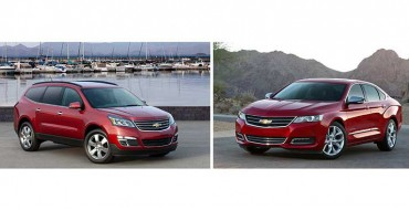 2014 Chevy Impala and Traverse Place on KBB's 12 Best Family Cars List