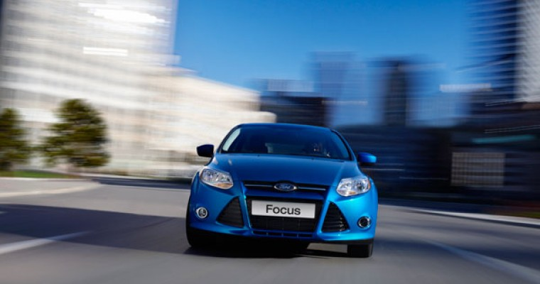 NHTSA Gives 2014 Ford Focus Five-Star Overall Vehicle Score